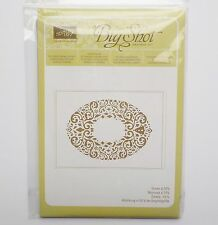 Stampin Up Holiday Frame Sizzix Textured Impressions Embossing Folder #19B