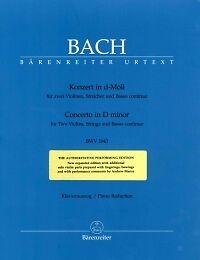 Bach Double Concerto Pour Violon Dmin Bwv 10432 Violons & P-s&p Fr-fr Afficher Le Titre D'origine
