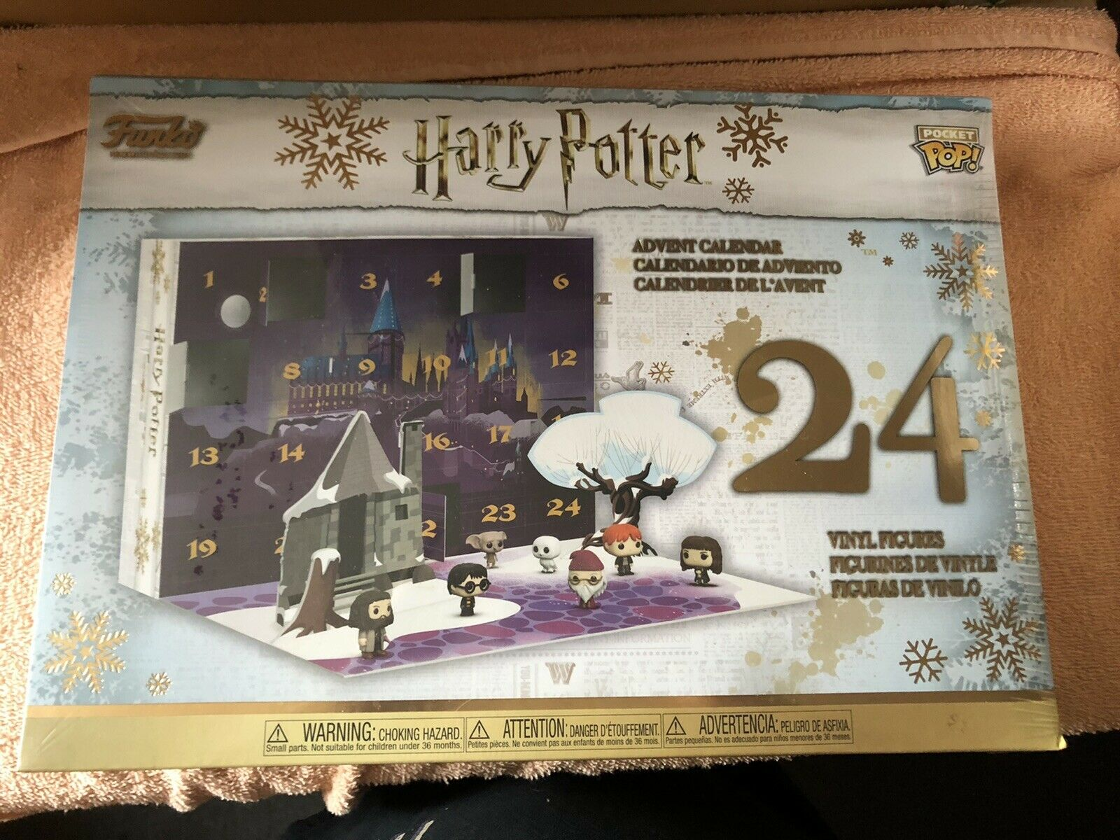 Funko Pocket Pop Harry Potter Advent Calendar 2018 Version Brand New 24 Figures