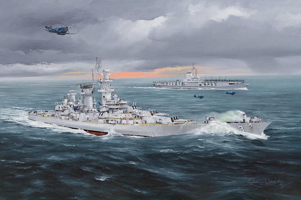 HobbyBoss Models 1 350 USS Hawaii CB-3