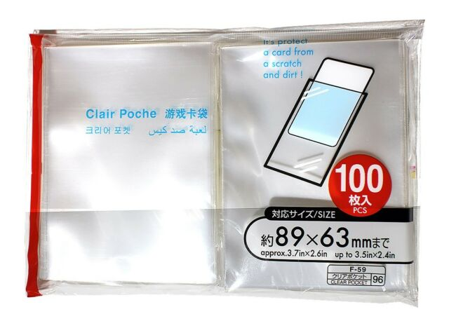 100 Fuji Instax Mini Film Sleeves Protector x Fujifilm Mini 8/ 90 Mini 25/50s 7s