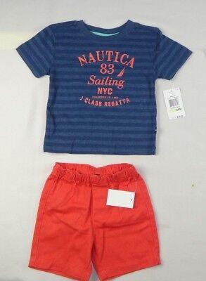 3-6 /& 6-9 Months 100/% Cotton 3-Piece Bodysuit Set Nautica Infant Girls 0-3