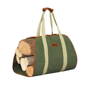 Traderight  Firewood Carrier  Canvas Wood  Storage Carrying Log Holder Tote