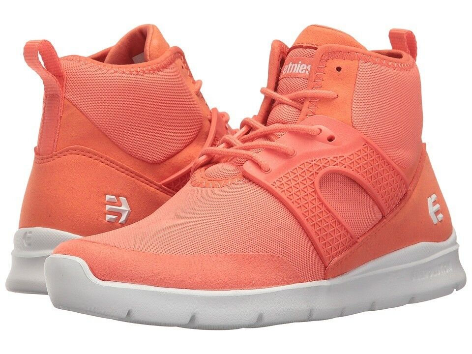 Women's Etnies Beta coral Synthetic  High Top shoes size 6