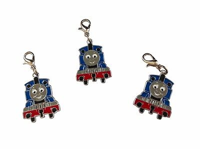 SILVER PLATE CLIP ON CHARM 1,3 or 5. CHOOSE THOMAS THE TANK ENGINE