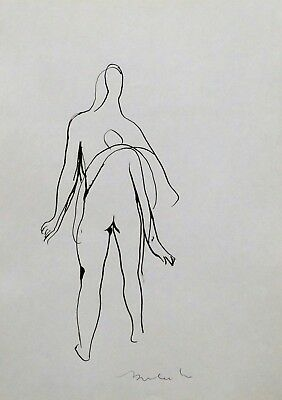 Art Dynamic Sketch Nudes Erotica Original Drawing Art St Valentine's Gift Belaubre Good Companions For Children As Well As Adults