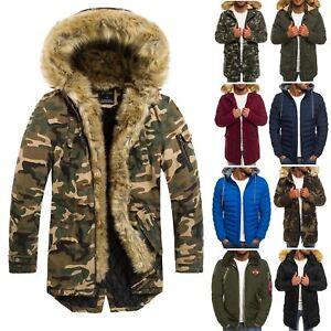 new products 3f923 710eb Details zu OZONEE Herren Winterjacke Parka Jacke Wärmejacke Wintermantel  OUTLET SALE MIX
