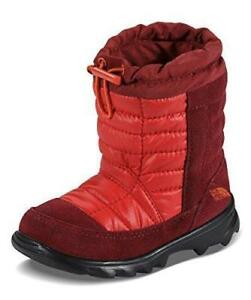 94c7407f9 Details about The North Face Toddler Winter Waterproof Camp Boots Red Size 5