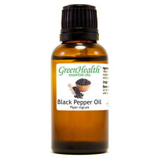 1 fl oz Black Pepper Essential Oil (100% Pure & Natural) - GreenHealth