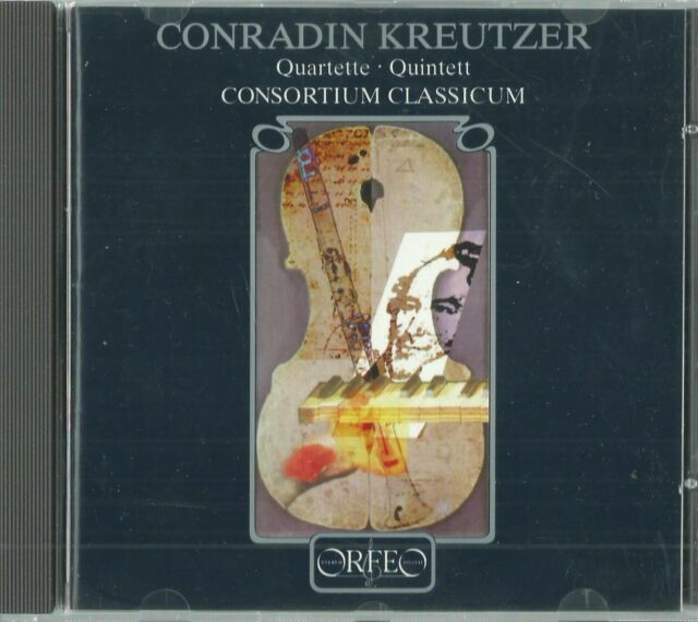 Consortium Classicum-Klarinetten/Klavier-Quartette Quintett,Conradin Kreutzer CD