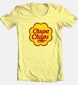 8a901b2b47 Chupa Chups T-shirt retro 1980 s candy unique brands 100% cotton ...
