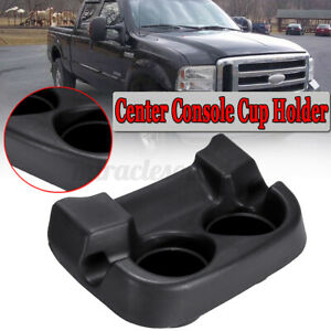 1c3z3613562aaa Dash Center Console Cup Holder Black For Ford Excursion F250 F350 Ebay