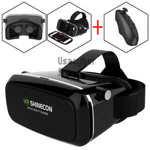3e088c067f1d Shinecon VR Virtual Reality Headset 3D Movies Games Video Glasses+ ...