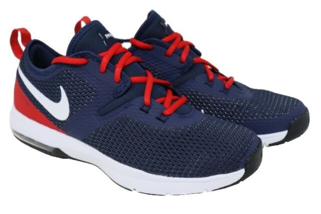 NIKE AR0505 400 AIR MAX TYPHA 2 NFL NEW ENGLAND PATRIOTS SIZE 8