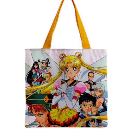 Gift usagi japan SAILOR MOON Anime Tote Grocery Bag