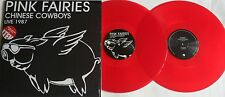 LP PINK FAIRIES Chinese Cowboys Live 1987 (2LP) (Re) LETV416LP RED VINYL-Sealed