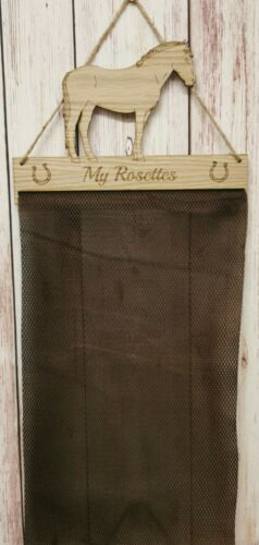 Connemara Rosette Hanger Oak Veneer Fabric Mesh