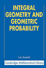Integral Geometry and Geometric Probability by Luis Antonio Santalo (Paperback, 2004)