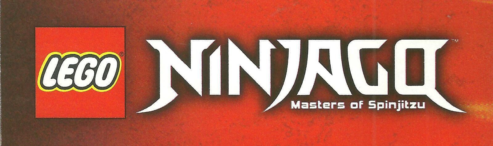 LEGO NINJAGO MASTERS OF SPINJITZU  various sets  available new nuovo