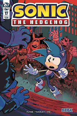 2019 SONIC THE HEDGEHOG #17 COMIC CHOOSE YOUR COVER IDW PUBLISHING