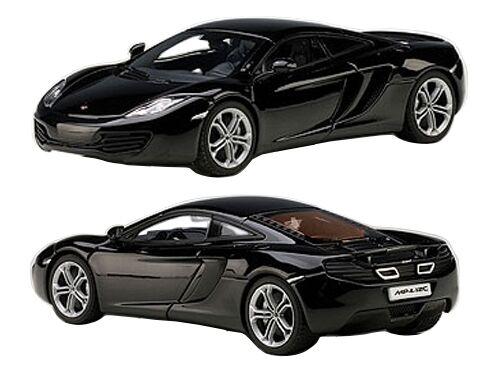 Las ventas en línea ahorran un 70%. Mclaren Mp4-12c Zafiro Negro Negro Negro 1 43 Diecast Coche Model por Autoart 56005  hasta 42% de descuento