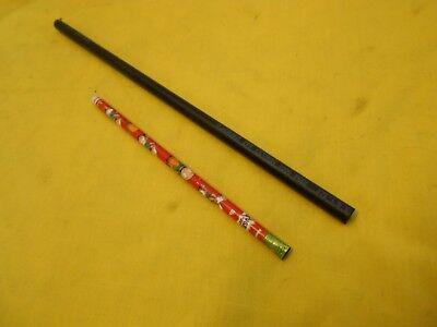 "KETRON 1000 PEEK ROD machinable plastic round bar stock 3//8/"" OD x 12/"" OAL"