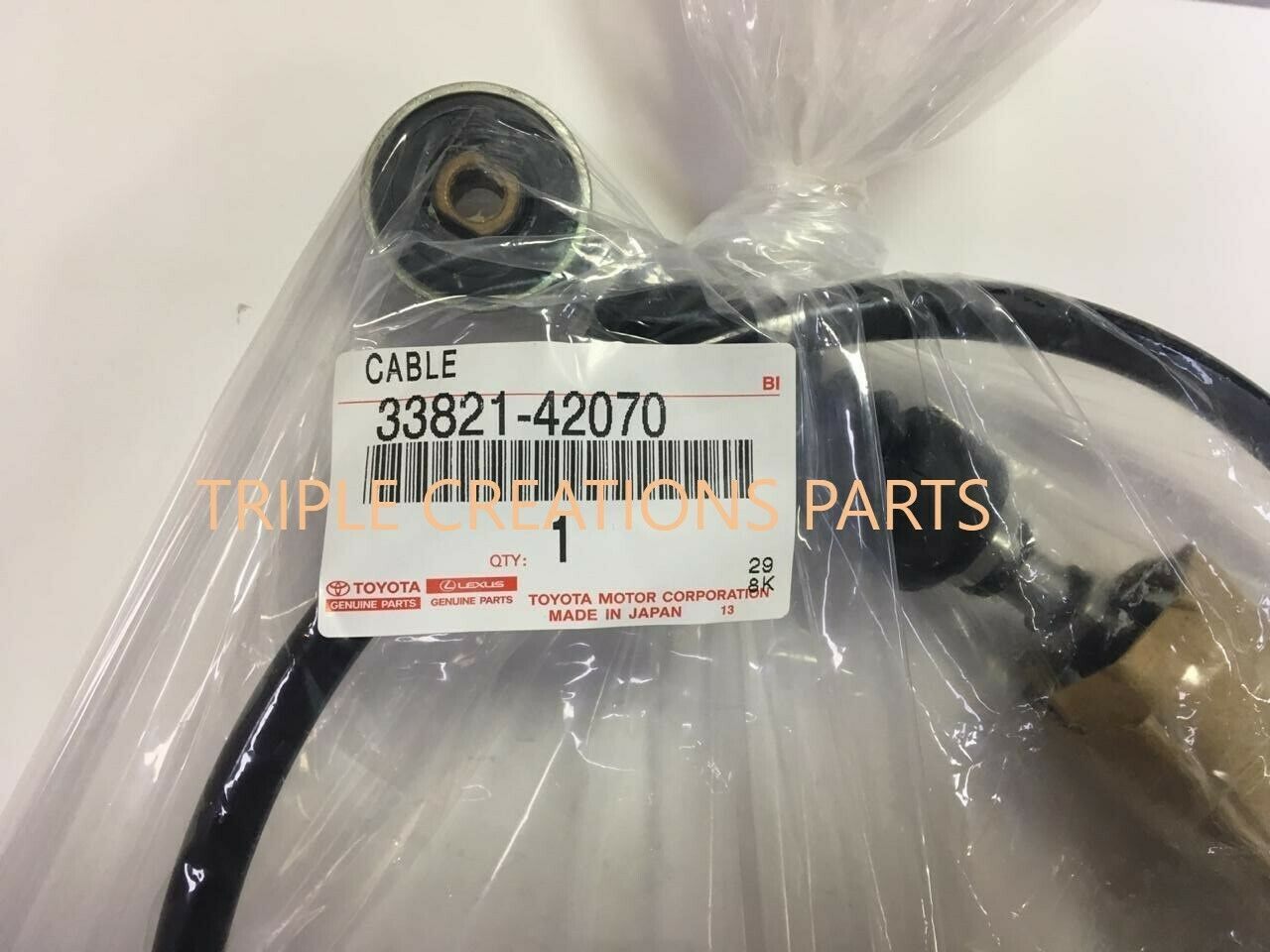 labwork Replacement Manual Transmission Shift Control Cable Fit for Toyota Rav4 1996-2000 33821-42070