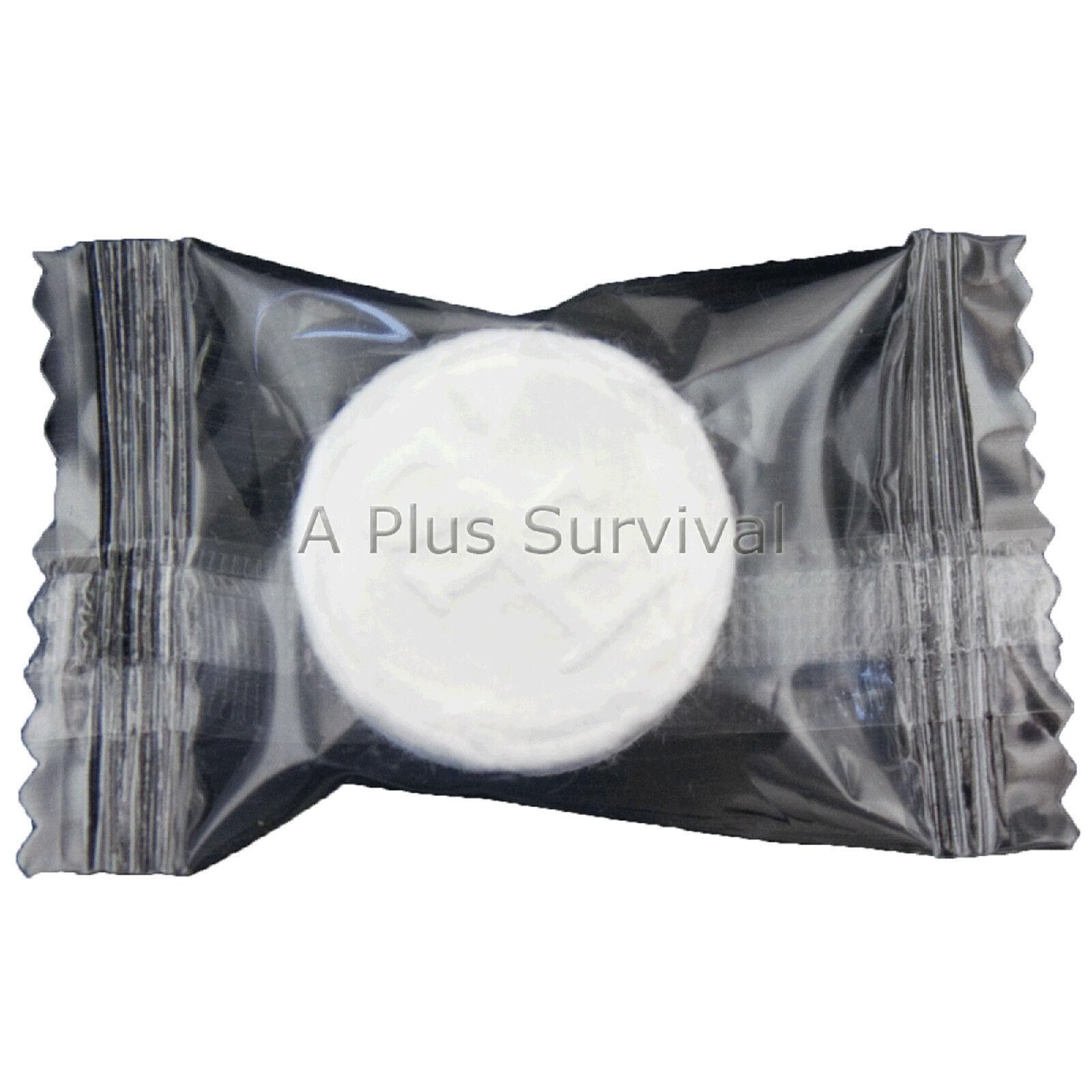 Lot de 900 comprimé se laver les linges Compact emballés individuellement survie hygiène Kit
