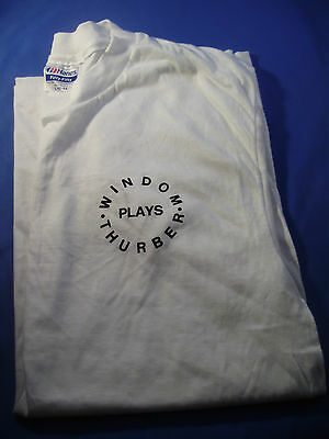 WILLIAM WINDOM COLLECTION ~ WINDOM PLAYS THURBER Commemorative T-SHIRT Lg (8)