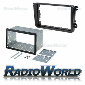 Volkswagen-Golf-Passat-Double-Din-Fascia-Panel-Adapter-Plate-Cage-Fitting-Kit