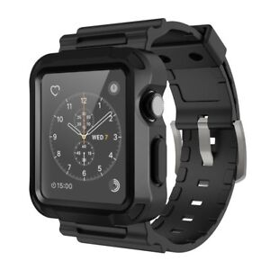 Iwatch Strap Bands And Screen Protector Case For Apple Watch Series 1 2 3 42mm 785499107668 Ebay