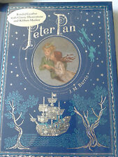 Peter Pan JM Barrie Leather Bound Book (Barnes & Noble Collectible Editions)