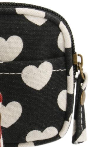 Vintage Chic Cuore Stampa Portamonete Portafoglio borsa SHABBY chic.gift