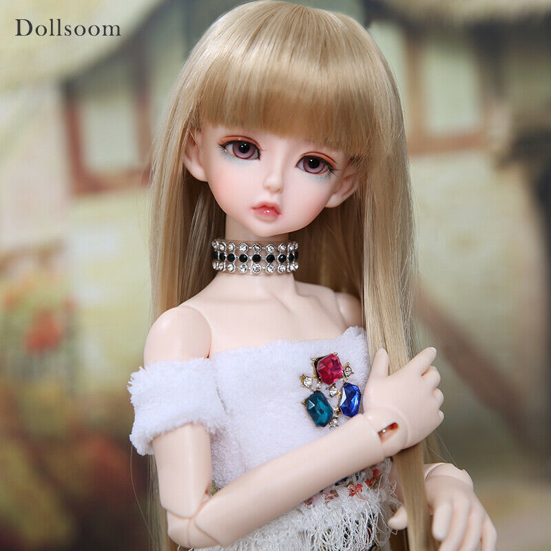 1 4 BJD Doll SD Doll Girl Komat Ior -Free Face Make UP+Free Eyes
