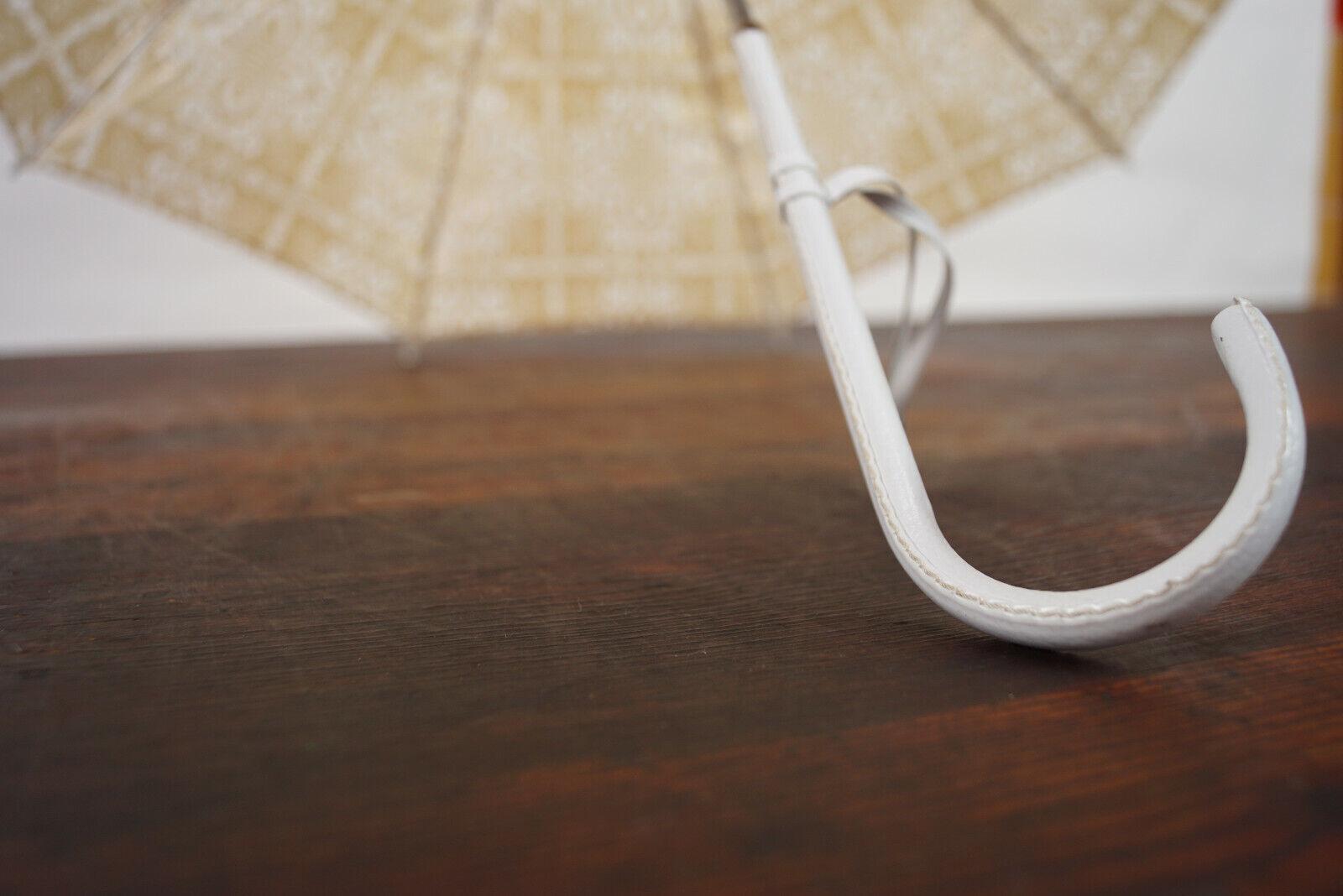 70er True Vintage Umbrella Retro Sunshade Umbrell… - image 5