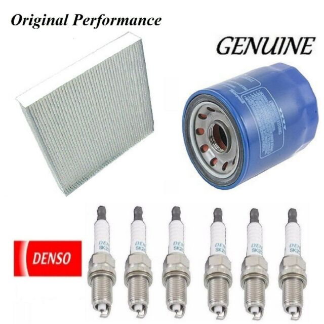 Tune Up Kit Cabin Air Oil Filters Spark Plugs For Acura TL
