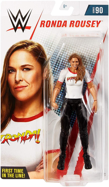 WWE RONDA ROUSEY FIGURE FIGURE FIGURE WRESTLING WOMENS SERIES 90 FIRST DEBUT DIVA MMA ROWDY 99b80d