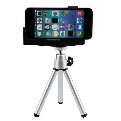 360 Rotatable Stand Tripod + Holder Mount Bracket  for iPhone 6 Samsung HTC SONY