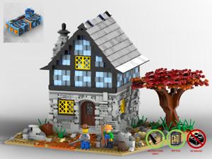 Landhaus-MOC-PDF-Bauanleitung-kompatibel-mit-LEGO-Steine