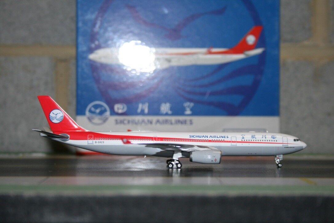 Phoenix 1 400 Sichuan Airbus A330-300 B-5923 (PH10755) Die-Cast Model Plane