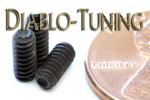 "#4-40 x 1//4/"" KNURLED POINT Socket SET SCREWS Alloy Steel Black Oxide Qty 10"