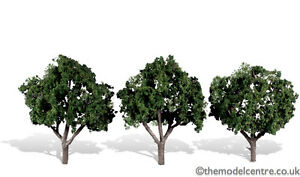 "TR3508 Woodland Scenics Cool Shade 3 Pack 3"" - 4"" Ready Made Trees TMC"