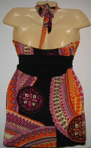 Vanity Top Stretchy Halter M Colourful wrPXqxrta