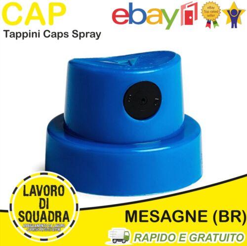 CAPS VARIE TIPOLOGIE MTN MONTANA 4 PEZZI TAPPINO TAPPO TAPPINI CAP