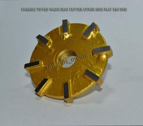 BRAND NEW CARBIDE TIPPED VALVE SEAT CUTTER 37 mm 45 deg 7 mm stem guide /& remr