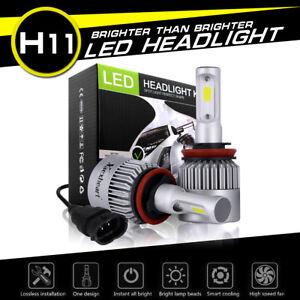 2PCS H8/H9/H11 60W 8800LM COB LED Headlight Kit Low Beam Bulbs 6500K US STOCK 661273220993