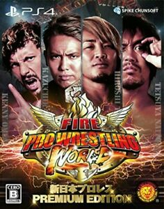 Fire-Pro-Wrestling-World-Wrestling-PREMIUM-EDITION-PS4-Regular-Inport