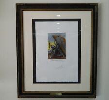 Salvador Dali Authentic Les Caprices de Goya Marked E.A