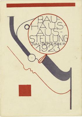 Gerahmter Druck Weimar Bauhaus Deutsche Kunst Ausstellung Plakat C.