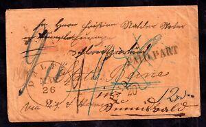 German-Multi-Cachet-Registered-Interesting-Postal-History-Cover-WS16469